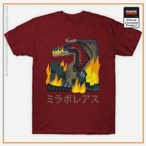 Hunter x Hunter Shirt - Monster Hunter World Iceborne Fatalis Kanji Icon Shirt TP291