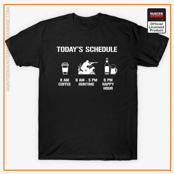 Hunter x Hunter Shirt - Today's Hunting Schedule Shirt