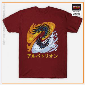 Hunter x Hunter Shirt - Monster Hunter World Iceborne Alatreon Kanji Icon Shirt TP291