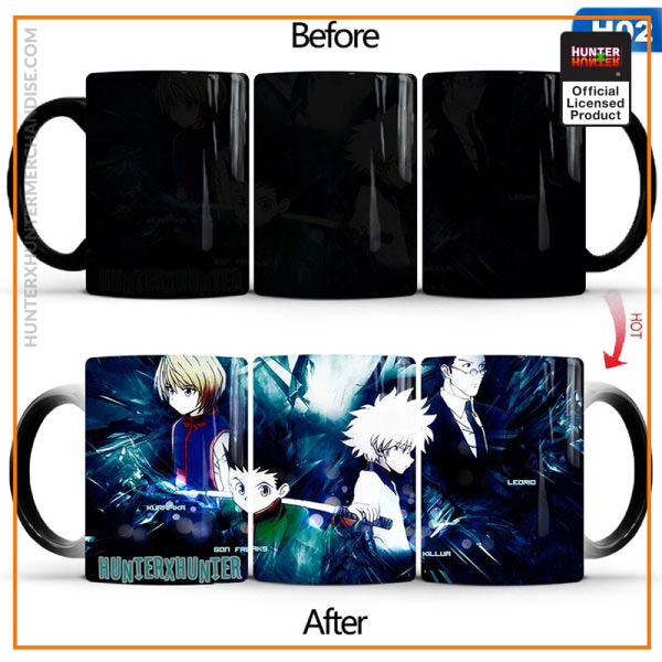 Hunter X Hunter Mug - Heat Sensitive Color Changing Cup
