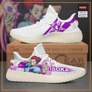Hisoka Morow Hunter X Hunter Yeezy Shoes