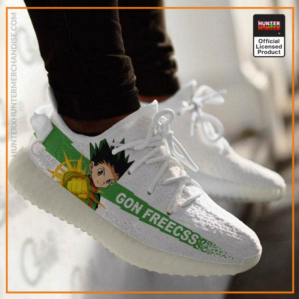 Gon Freecss Hunter X Hunter Yeezy Shoes