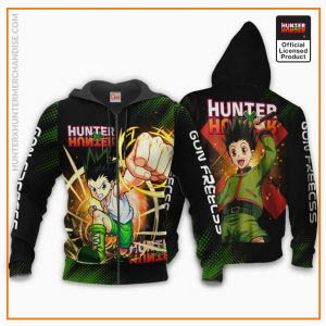 Gon Freecss Shirt Hunter X Hunter Custom Hoodie Jacket