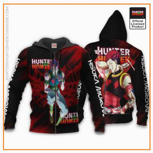 HxH Merch: Hisoka Morow  Custom Hoodie Jacket