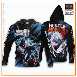Killua Zoldyck Shirt Hunter X Hunter Custom Hoodie Jacket