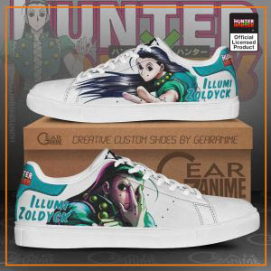 Illumi Zoldyck Skate Shoes Hunter X Hunter