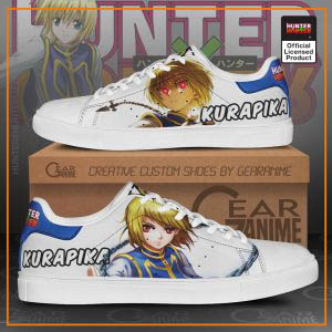 Kurapika Skate Shoes Hunter X Hunter