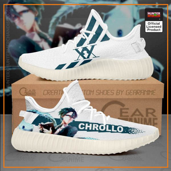 Chrollo Lucilfer Yeezy Shoes Hunter X Hunter
