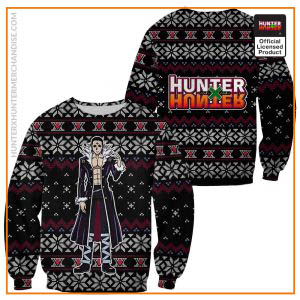 Chrollo Lucilfer Ugly Christmas Sweater Hunter X Hunter Gift