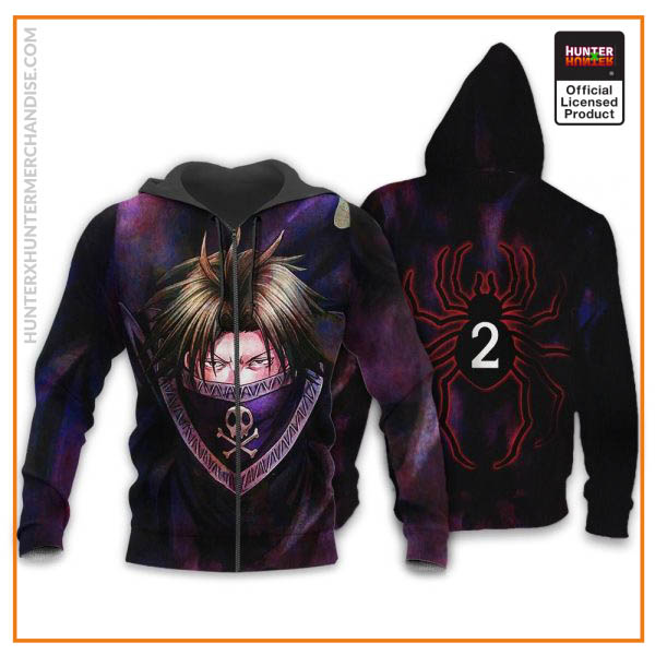 Feitan Hunter X Hunter Shirt Sweater Hunter X Hunter Hoodie Jacket