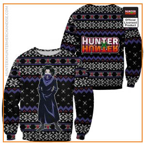 Feitan Ugly Christmas Sweater Hunter X Hunter Xmas Gift Clothes