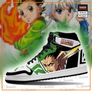 Gon & Killua Jordan Sneakers Hunter X Hunter