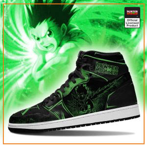 Gon Freecss Hunter X Hunter Dark Jordan Sneakers
