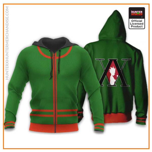 Gon Freecss Hunter X Hunter Uniform Shirt Hunter X Hunter Hoodie Jacket