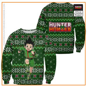 Gon Ugly Christmas Sweater Hunter X Hunter Custom Xmas Clothes