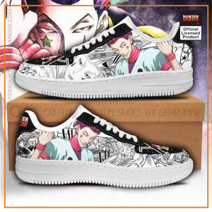Hisoka Air Force Sneakers Hunter X Hunter