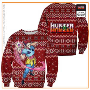Hisoka Ugly Christmas Sweater Hunter X Hunter Xmas Gift