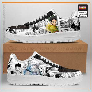 Hunter X Hunter Air Force Sneakers Mixed Manga