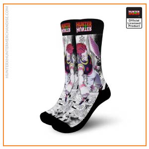 Hunter X Hunter Socks Hisoka Socks Hunter X Hunter Manga Mixed Anime