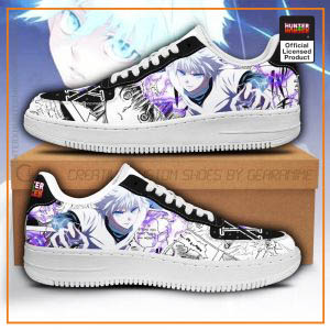 Killua Hunter X Hunter Air Force Sneakers