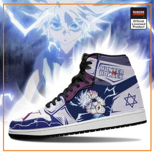 Killua Hunter X Hunter Jordan Sneakers Godspeed