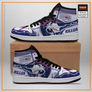 Killua Hunter X Hunter Jordan Sneakers Lightning