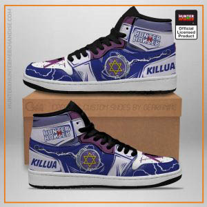 Killua Shoes Hunter X Hunter Jordan Sneakers YoYo