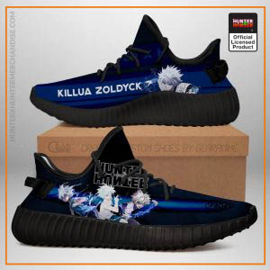 Killua Yeezy Shoes Custom Hunter X Hunter
