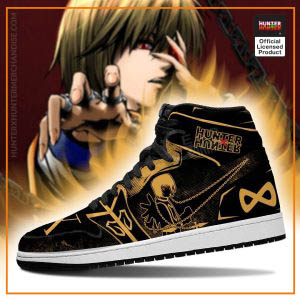 Kurapika Hunter X Hunter Jordan Sneakers Skill