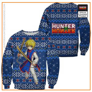 Kurapika Ugly Christmas Sweater Hunter X Hunter Xmas Gift Custom Clothes