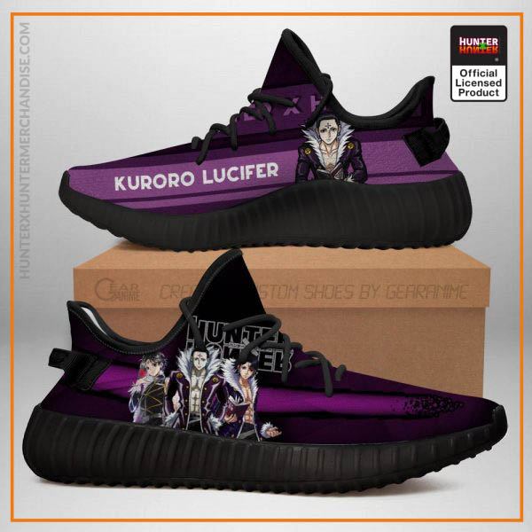 Kuroro Lucifer Yeezy Shoes Hunter X Hunter