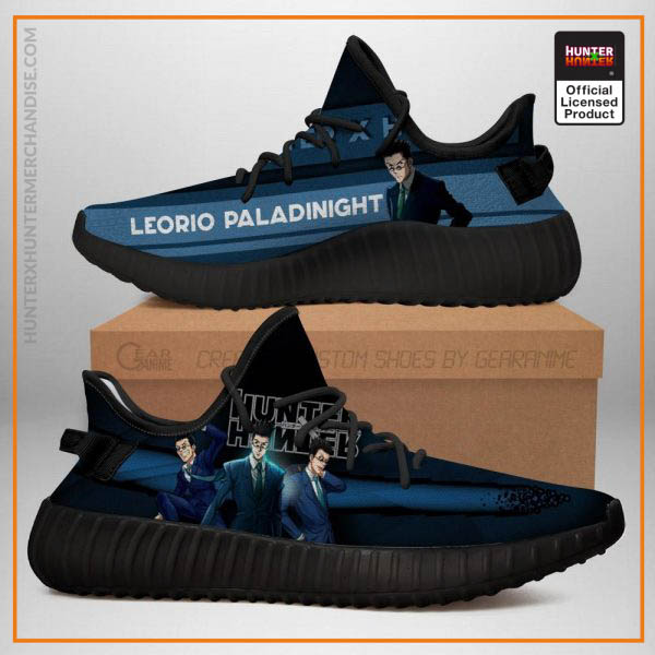 Leorio Yeezy Shoes Custom Hunter X Hunter