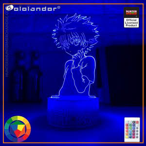 HxH Lamp - Killua Zoldyck Hunter X Hunter Night Lamp