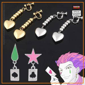 Hunter X Hunter Hisoka Earrings