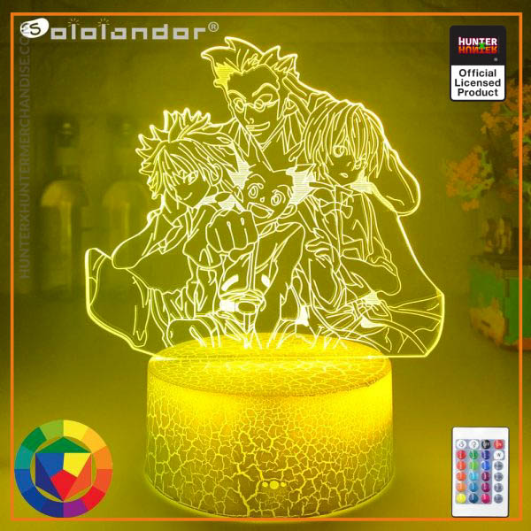 HxH Lamp - Hunter X Hunter 3D Night Lamp Led