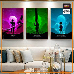 HxH Wall Art - Hunter x Hunter Wall Art Canvas 02