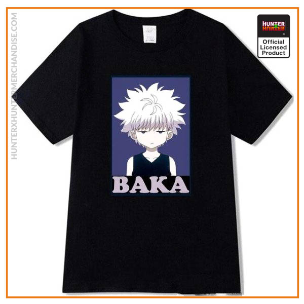HxH Shirt - Hunter x Hunter Killua Baka Shirts