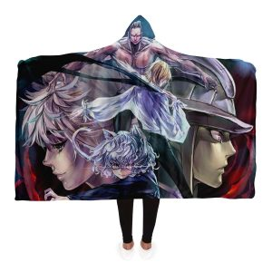 HxH Merch - Hunter X Hunter 3D Hooded Blanket New Style