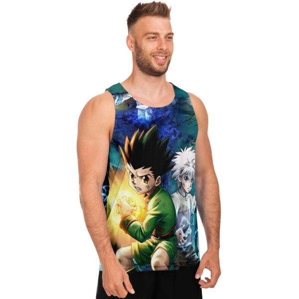HxH Merch - Killua Zoldyck & Gon Freecss 3D Tank Top