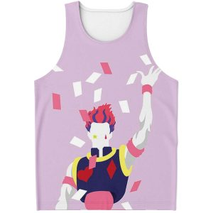 HxH Merch - Hisoka Pink Tank Top