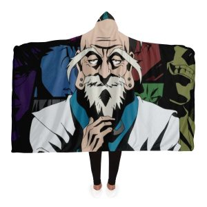 HxH Merch - Isaac Netero Hooded Blanket