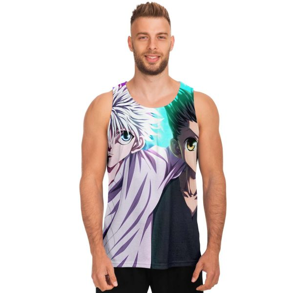 HxH Merch - Killua Zoldyck & Gon Freecss Tank Top Design No.3