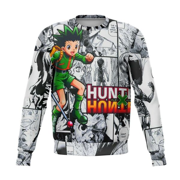 HxH Merch - Gon Freecss 3D Sweatshirt Style No.2