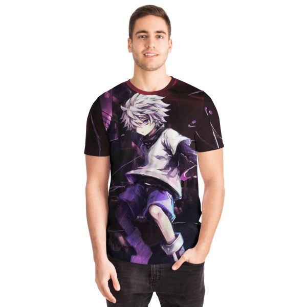 HxH Merch - Killua Zoldyck 3D T-shirt No.2