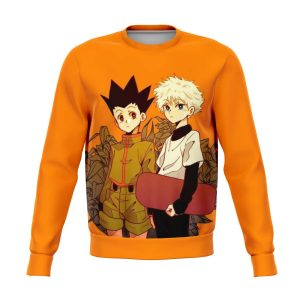 HxH Merch - Killua Zoldyck & Gon Freecss Sweatshirt