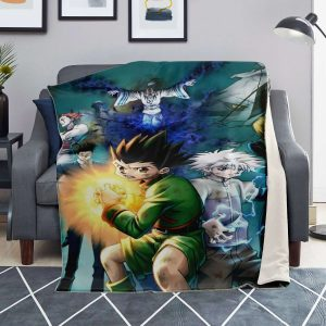 HxH Merch - HxH Character Microfleece Blanket 3D Design No.5