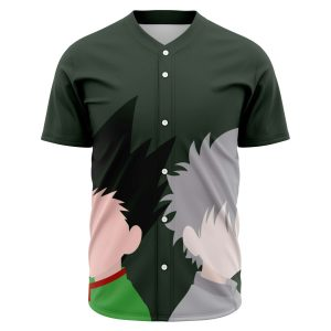 HxH Merch - Killua Zoldyck & Gon Freecss Baseball Jersey No.2