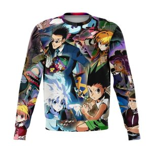 HxH Merch - HxH Character Sweatshirt 3D New Style No.1