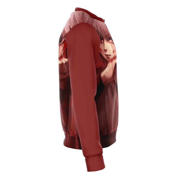 HxH Merch - Killua Zoldyck Blood 3D Sweatshirt