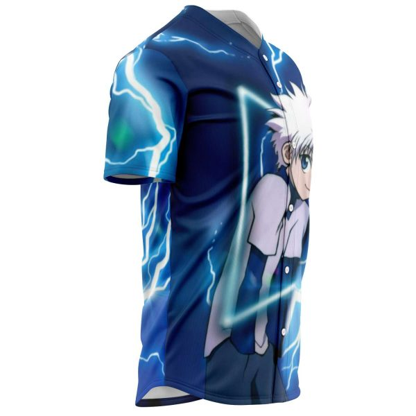 HxH Merch - Killua Zoldyck 3D Baseball Jersey